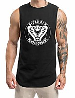 cheap -globo gym cobras mens bodybuilding weight lifting workout tank tops,black,large