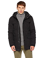 cheap -men's classic parka large black