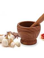 cheap -Resin Garlic Masher Medicine Mortar Kitchen Tools