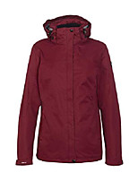 cheap -women rain jacket inkele, color:fuchsia, size:40