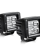 "cheap -3"" led pods light bar 9d 40w 4000lm flood off road fog driving lights waterproof for trucks tractors boats"