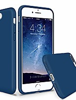 "cheap -silicone case compatible with iphone 8 plus case iphone 7 plus case, soft liquid silicone thicken phone case cover with microfiber lining for iphone 7 plus iphone 8 plus 5.5"", blue horizon"