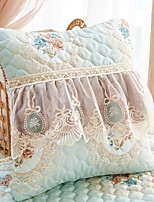 cheap -Cushion Cover Beautiful European Style European Style Embroidered Lace Vertical Edge Pillow Case Cover Living Room Bedroom Sofa Cushion Cover
