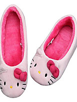 cheap -hello kitty girl's slippers light pink warm comfort indoor shoes (parallel import/generic product) (8 m us toddler, kiki)