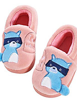 cheap -animal coral warm kids slipper shoes childrens slippers cute slippers toddler little kid (9 m toddler, pink)