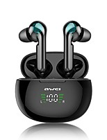 cheap -AWEI T15 T15P TWS Bluetooth 5.0 Earphones Wireless Headphones Touch Control Sport headset Earphone For phone iPhone 7 x Xiaomi Huawei