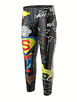 cheap -Men's Dive Skin Leggings Elastane Bottoms Breathable Quick Dry Swimming Surfing Water Sports Painting Autumn / Fall Spring Summer / Stretchy