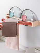 cheap -Punch-free Towel Rack Foldable Hanger Toilet Bathroom Shelf Rotating Towel Bar
