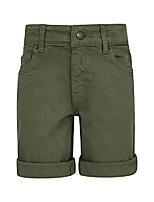 cheap -kids denim shorts-lightweight casual summer shorts khaki 13 years