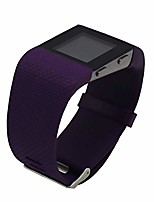 cheap -replacement bands for fitbit surge watch, silicone compatible metal buckle fitness tracker original wristband strap small&large