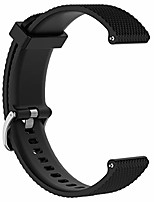 cheap -for samsung galaxy watch replacement band,  20mm replacement silicone wrist band strap for samsung galaxy watch 42mm/ gear sport sm-r600/ gear s2 classic(silicone black)
