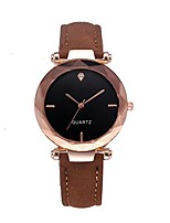 cheap -women wrist watch quartz watch with crystal dial clock leather for female luxury analog quartz crystal business classic wristwatch for ladies