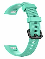 cheap -soft silicone wrist strap, replacement watch band bracelet for huawei band 3 pro and band 4 pro