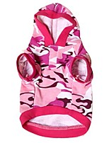 cheap -new pet dog cat camo clothing hoody apparel puppy doggy camouflage coat (m, b)
