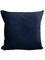 cheap -Cushion Cover 1PC Flannel Velvet Soft Decorative Square Throw Pillow Cover Cushion Case Pillowcase for Sofa Bedroom 45 x 45 cm (18 x 18 Inch) Superior Quality Mashine Washable