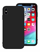 cheap -iphone x case, iphone xs case, anti-scratch cases for iphone x/xs, silicone iphone x/xs cases with microfiber cloth cushion lining (black)
