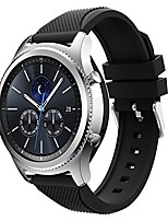 cheap -gear s3 frontier band, gear s3 classic watch band, aisports 22mm samsung gear s3 silicone band smart watch band replacement band bracelet wristband for samsung gear s3 / moto 360 2nd 46mm - black