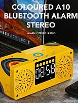 cheap -Bluetooth 5.0 Stereo Speaker FM Radio Boombox Subwoofer Speaker Portable Speakers MP3 Play Super Bass Column Subwoofer