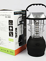 cheap -solar lantern w/hand crank and usb port - 36 ultra bright leds - rechargeable outdoor emergency light w/hook for hanging - portable lamp for camping, hiking, storms, hurricanes & power outages