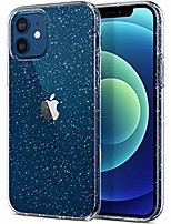 cheap -compatible with iphone 12 and 12 pro case, slim fit hybrid glitter bling sparkly case for women shockproof protective flexible bumper cover for iphone 12/12 pro 6.1-inch 2020, clear glitter