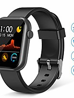 cheap -smart watch,fitness tracker with heart rate monitor,ip67 waterproof fitness watch with pedometer,smartwatch compatible with ios, android for men, women,black