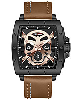 cheap -KADEMAN Men's Sport Watch Quartz Sporty Big Face Water Resistant / Waterproof Analog Rose Gold Black+Gloden Black / Two Years / Stainless Steel / Stainless Steel