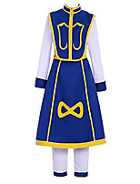 cheap -kurapika cosplay costume uniform shirts pants full set shoes for adult halloween outfits (x-large, male)