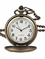 cheap -flower series steampunk quartz pocket watch fob retro half hunter scale pocket watches for women with box
