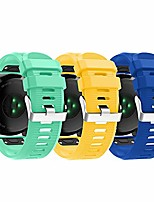 cheap -compatible with garmin fenix 6x pro watch bands for women men, fenix 5x plus band, 26mm easy fit silicone replacement bands straps wristbands bracelet for fenix 3 hr (blue yellow green)