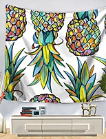 cheap -Wall Tapestry Art Decor Blanket Curtain Picnic Tablecloth Hanging Home Bedroom Living Room Dorm Decoration Polyester Colorful Pineapple