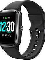 cheap -smart watch for men women compatible iphone samsung,waterproof fitness tracker fitness watch with heart rate monitor activity tracker sports watch for ios android (black 01)