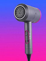 cheap -hammer type hair dryer with hot and cold air conversion button constant temperature not hurting hair for women, men,gray