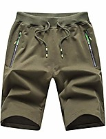 cheap -men's summer thin home comfortable leisure sports breathable short pants army green