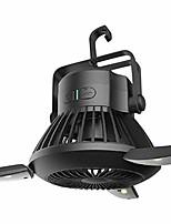 cheap -camping fan lamp,tent fan led solar tent fan usb charging abs portable fan for fishing survival outdoor hiking