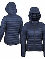 cheap -women's ridge bluetooth battery heated down jacket (12v), dark navy, xx-large