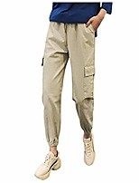cheap -women's outdoor hiking stryke covert cargo pants, stretchable, gusseted construction with pockets khaki