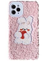 cheap -Case For Apple iPhone 11 / iPhone XR / iPhone 11 Pro Shockproof Back Cover Plush TPU