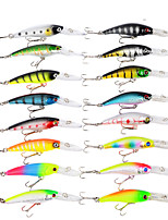 cheap -16 pcs Lure kit Fishing Lures Hard Bait Lure Packs Bass Trout Pike Bait Casting
