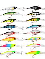 cheap -16 pcs Lure kit Fishing Lures Hard Bait Lure Packs Bass Trout Pike Bait Casting
