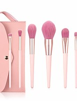 cheap -Professional Makeup Brushes 7 PCS Soft Full Coverage Lovely Comfy Wooden / Bamboo for Makeup Tools Eyeliner Brush Blush Brush Foundation Brush Makeup Brush Lip Brush Lash Brush Eyebrow Brush