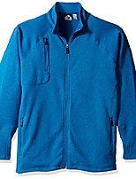 cheap -men's callum sweater fleece jacket, ocean, 2x