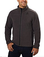 cheap -mens sweater fleece jacket (small, black)