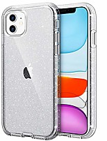 cheap -iphone 11 case,  slim fit hybrid glitter bling sparkly shock absorption drop protection anti-scratch shockproof protective phone case hard bumper cover for iphone 11 6.1-inch 2019, glitter black