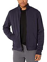 cheap -men's california fleece zip jacket, navy, l