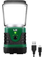 cheap -le led camping lantern rechargeable, 1000lm, 4 light modes, 4400mah power bank, ip44 waterproof, perfect lantern flashlight for hurricane emergency, hiking, home and more, usb cable included