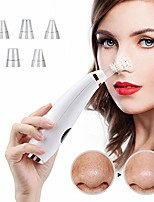 cheap -blackhead remover vacuum pore cleaner usb rechargeable blackhead exporter acne grease remover facial beauty instrument with 3 adjustable suction power,white