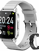 cheap -smart watch, fitness tracker fitness watch, ip68 swimming waterproof smart watch smar twatch compatible with iphone samsung android phones- (gray)