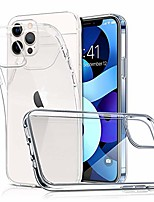 cheap -slim fit clear case for iphone 12 mini 2020 5g 5.4 inch,anti-yellow full protective transparent anti-scratch shock absorption tpu phone case for iphone 12 mini (crystal clear)