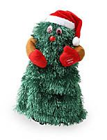 cheap -animated dancing christmas tree - sings 'jingle bell rock' - green
