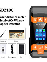 cheap -GD210C Metal Detector Wiring Detector Laser Distance Meter Rangefinder Wall Scanner Wire Cable Metal Stud Wood Finder Digital Tape